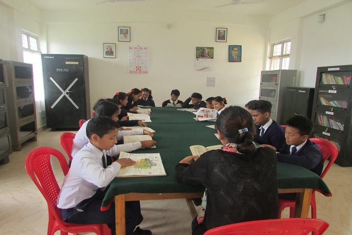 Assam Rifles High School-Library