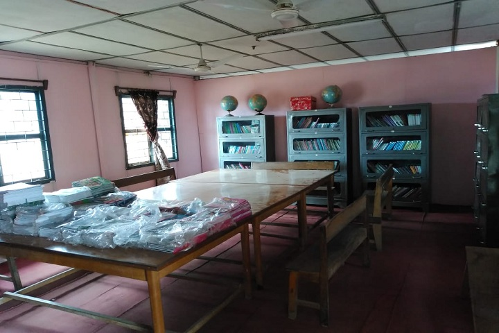 Assam Rifles Middle School-Library