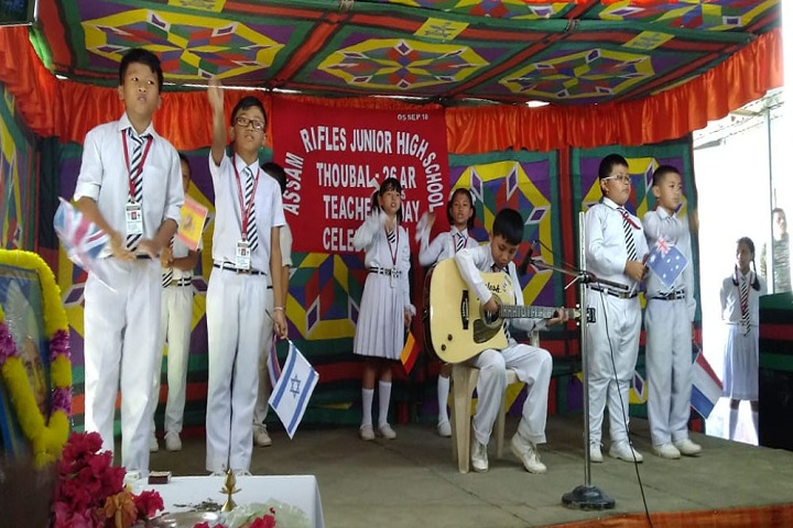 Assam Rifles Middle School-Music