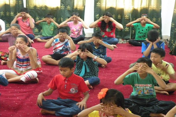 Assam Rifles Public School-Yoga Day