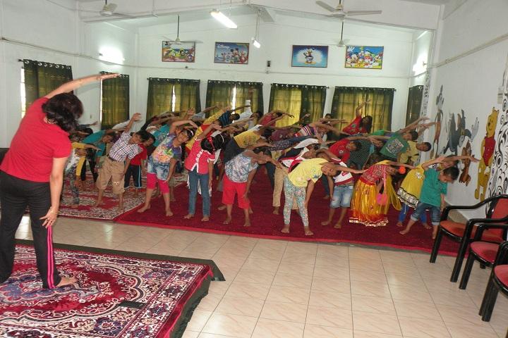 Assam Rifles Public School-Yoga