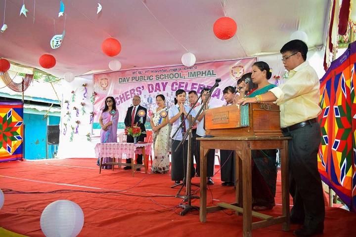 Dav Public School-Events singing