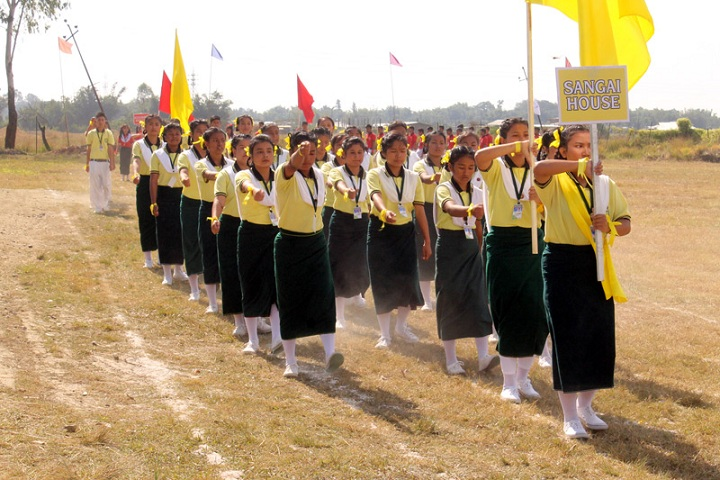 Hundred Flowers Higher Secondary School-Others sports meet