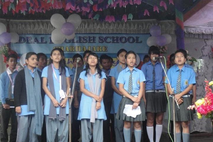Ideal English School-Events singing