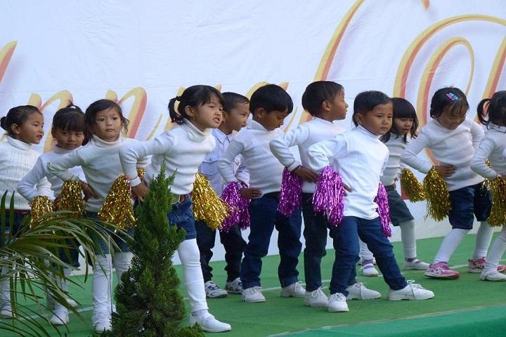 Imphal Valley School-Events dance