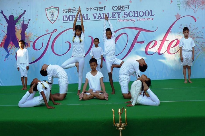 Imphal Valley School-Others yoga