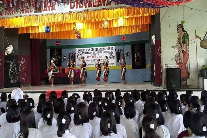 Jawahar Navodaya Vidyalaya-Dance on Annual Day
