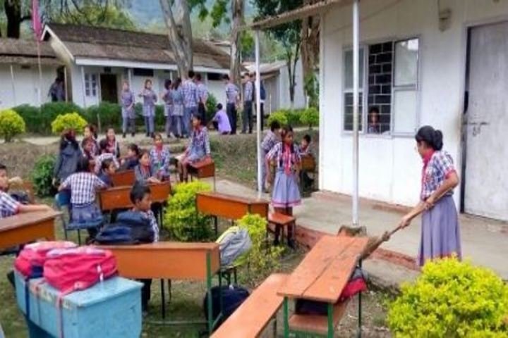 Kendriya VidyalayaCleaning School Compound