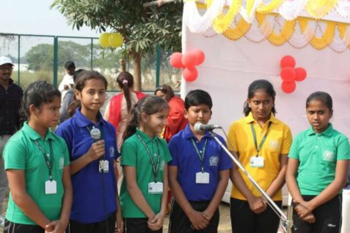 Delhi Public World School-Singing
