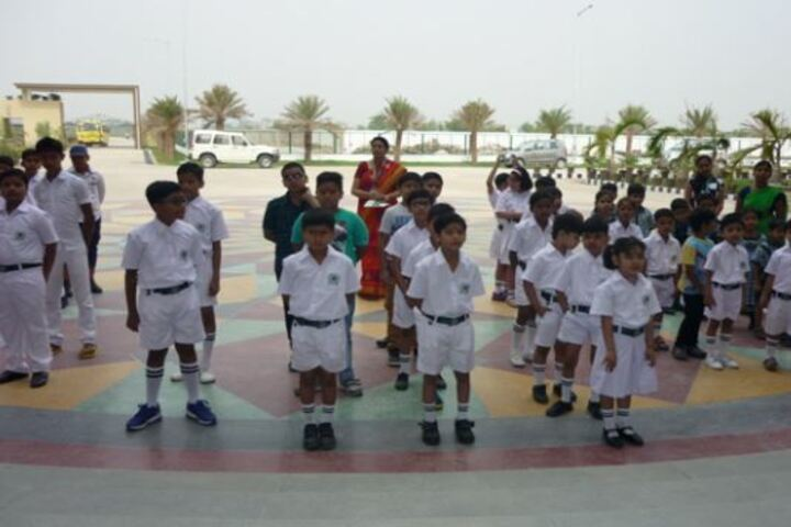 Delhi Public World School-Students