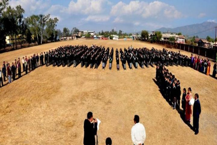 Manipur Public School-Morning Assembly Prayer