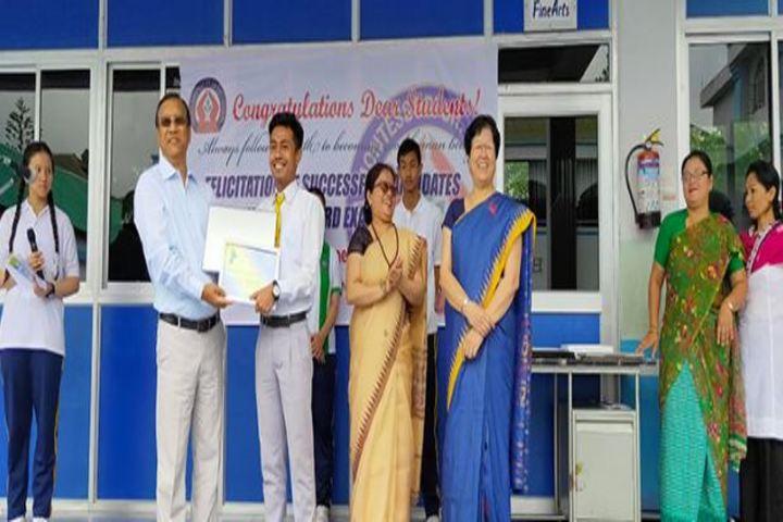 Maria Montessori Senior Secondary School-Felicitation