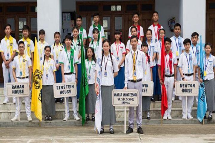 Maria Montessori Senior Secondary School-Investiture