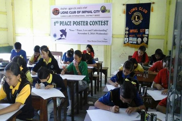 Mega Manipur School-2nd Peace Poster Contest