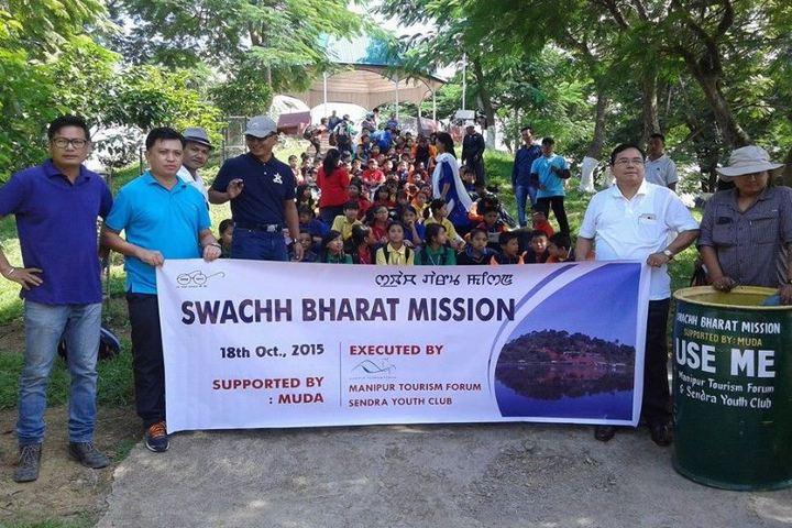 Mega Manipur School-Swachh Bharat Mission