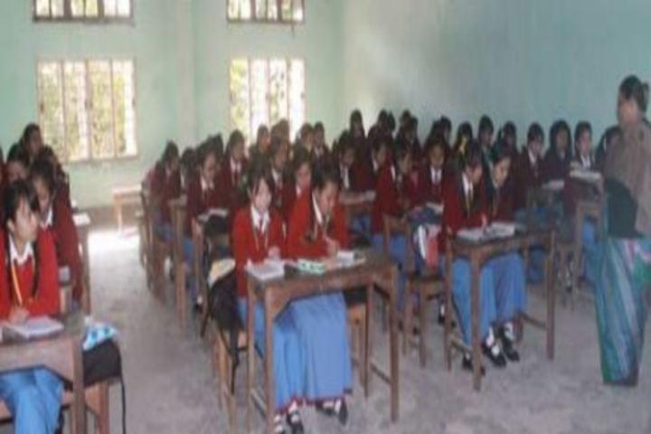 Rajkumari Sanatombi Devi Vidyalaya-Classroom