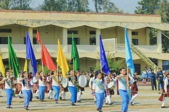 Rajkumari Sanatombi Devi Vidyalaya-March Fast