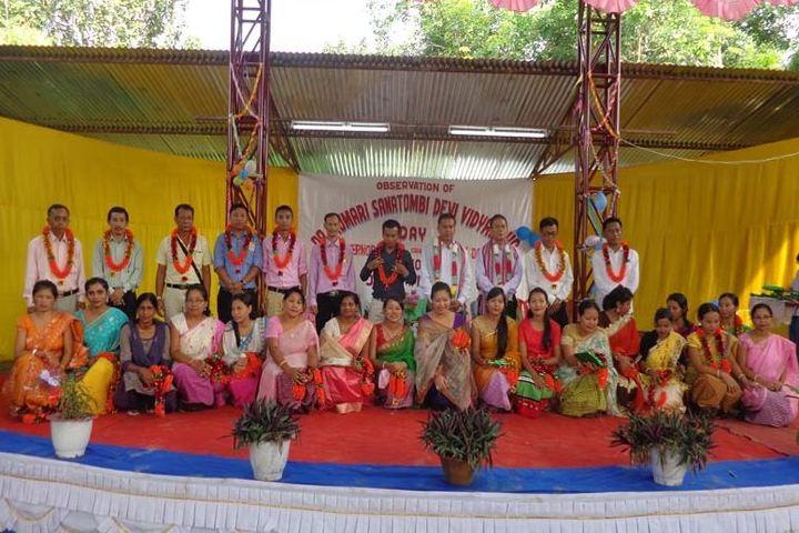 RK Sanatombi Vidyalaya-Campus Day Celebrations