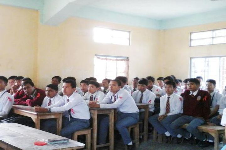 RK Sanatombi Vidyalaya-Class Room