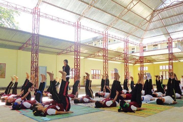 RK Sanatombi Vidyalaya-Yoga