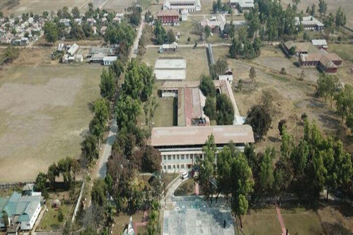 Sainik School-Aerial Vioew