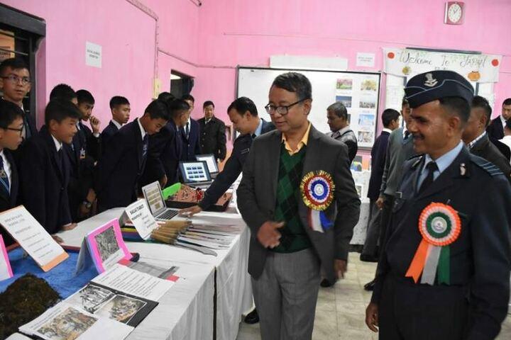 Sainik School-Art Exhibition