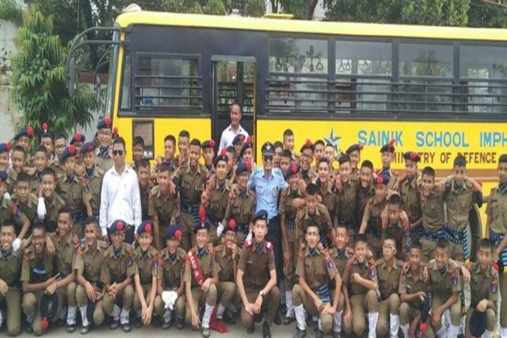 Sainik School-Independence Day Celebration