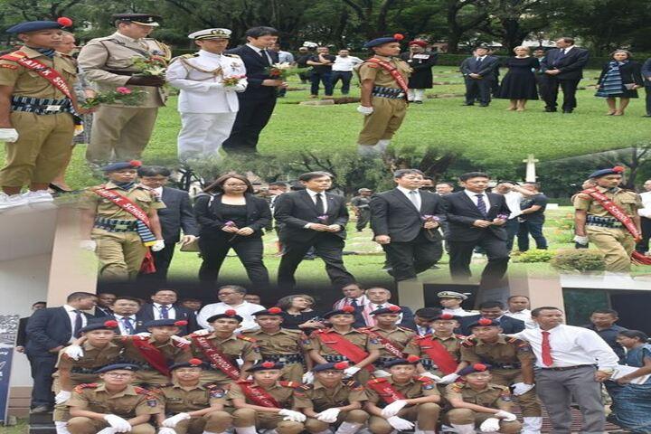 Sainik School-Guard of Honour