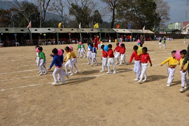 Assam Rifles School Kohima-Annual Sports Day