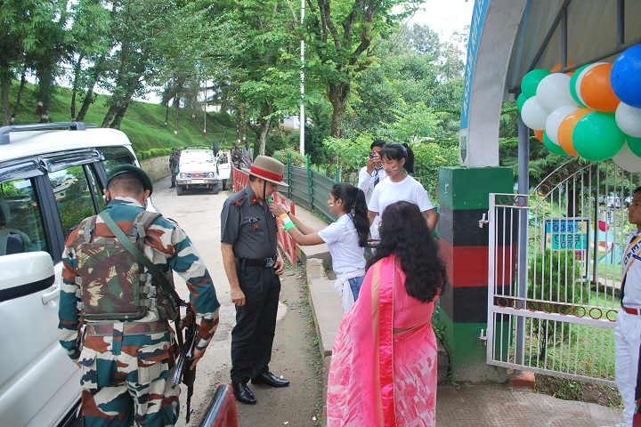 Assam Rifles School Kohima-Independence Day Guest