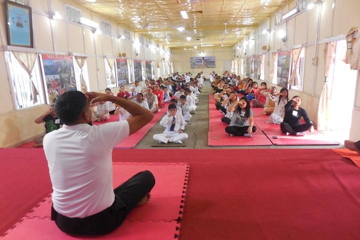 Assam Rifles School Kohima-International Yoga Day