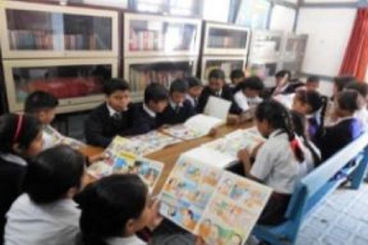 Assam Rifles School Kohima-Library
