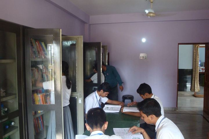 Divine Happy School-Library