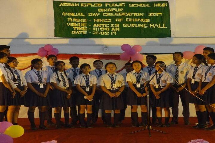 Assam Rifles Training Centre High-Annual Day