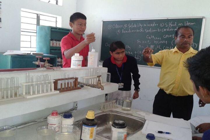 Assam Rifles Training Centre High-Laboratory