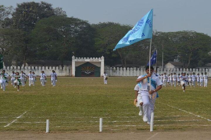 Assam Rifles Training Centre High-March Past