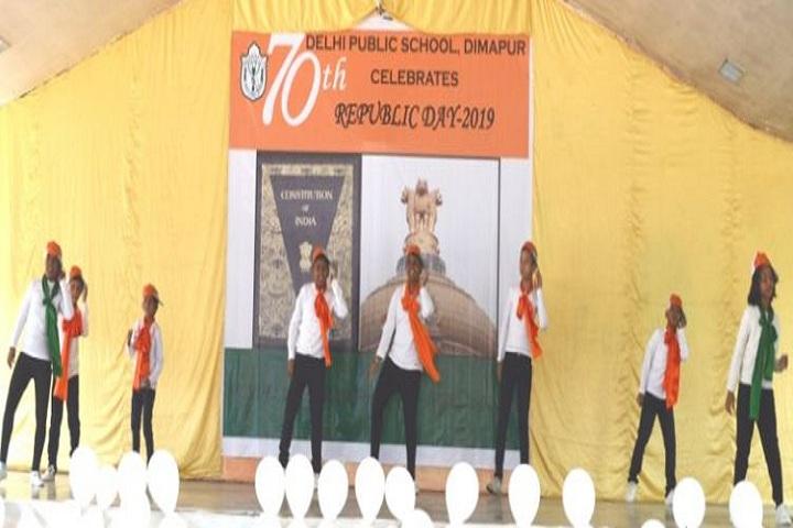 Delhi Public School Dimapur-Republic Day Dance