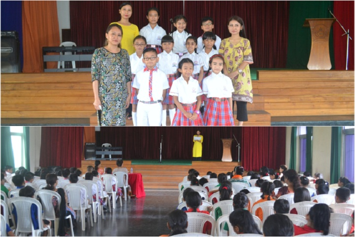 Hollo Toli School-Interhouse Poem Competition