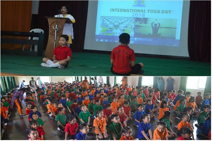 Hollo Toli School-International Yoga Day