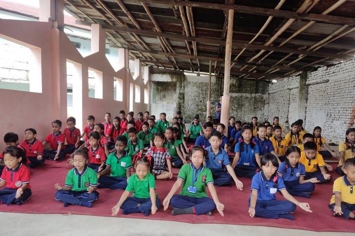 Kendriya Vidyalaya Tuli-International Yoga Day