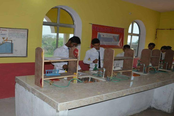Divya Bhaskar Public School-Chemistry Lab