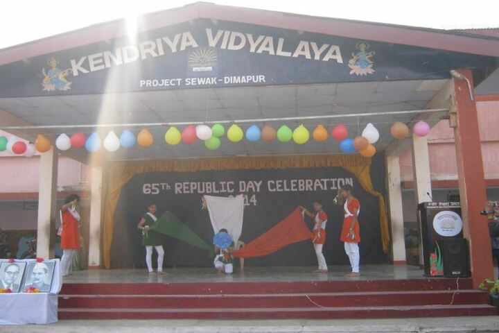 Kendriya Vidyalaya-National day celebration
