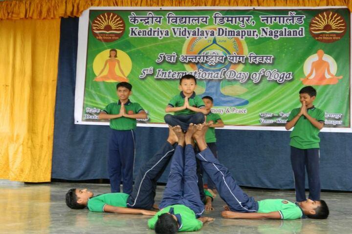 Kendriya Vidyalaya-Yoga-1