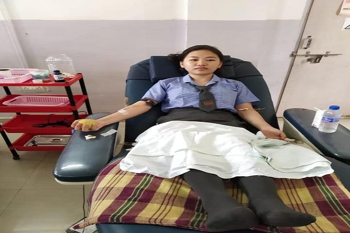 Livingstone Founder Higher Secondary School-Blood Donation
