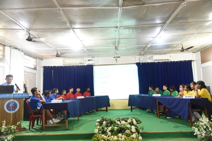 Livingstone Founder Higher Secondary School-Inter House Quiz Competition