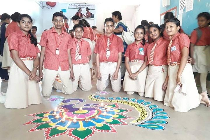 ABS Oxford International School- Rangoli