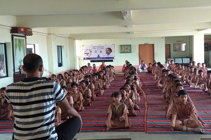 Amrita Vidyalayam-Yoga-Classes