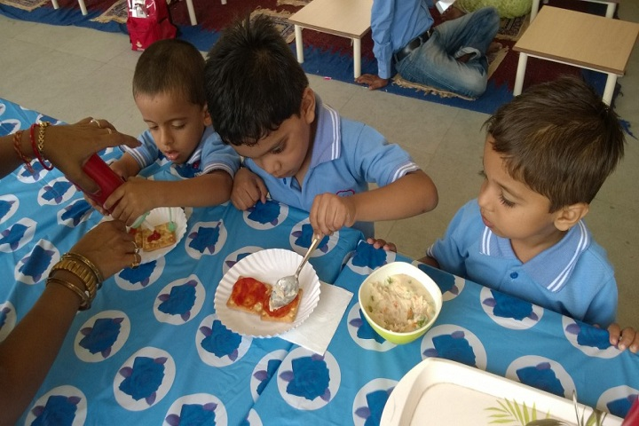 Aparna World School-Cafeteria