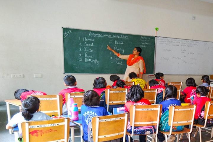 Aparna World School-Classroom