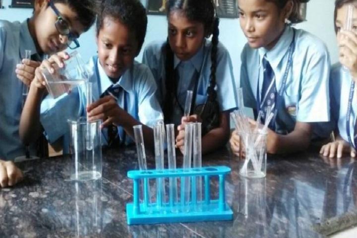 Aparna World School-Laboratory
